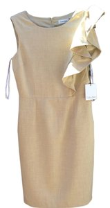 Calvin Klein short dress Beige on Tradesy