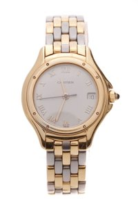Cartier Cartier Two-Tone Cougar Ladies Watch - Steel/Gold