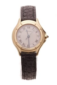 Cartier Cartier Panthere Cougar 26mm Ladies Watch - Gold/Alligator