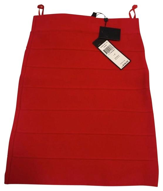 Item - Red Simone Skirt Size 4 (S, 27)