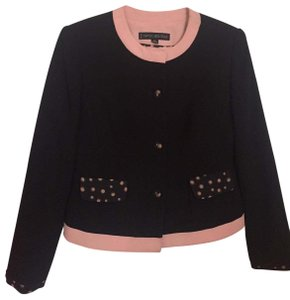 Nipon Boutique Jacket Cropped Jacket Black Blazer
