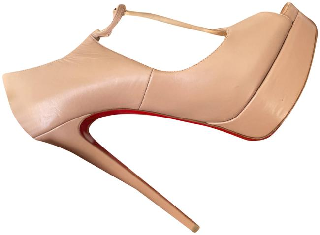 Item - Nude 'alta Poppins' Mary Jane Platform Pumps Size EU 40 (Approx. US 10) Narrow (Aa, N)