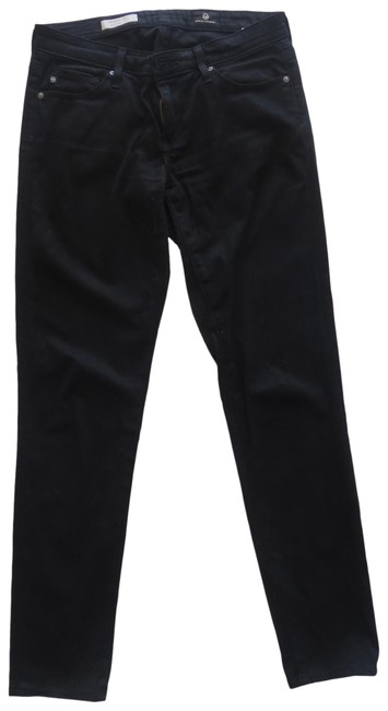 Item - Black Dark Rinse Stevie Ankle Skinny Jeans Size 0 (XS, 25)