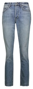 Helmut Lang Straight Leg Jeans-Medium Wash
