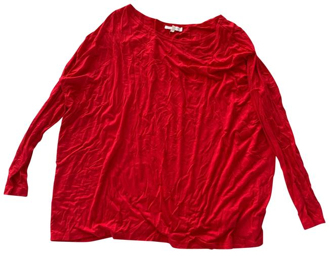 Item - Red Longsleeve M Bamboo Tee Shirt Size 8 (M)