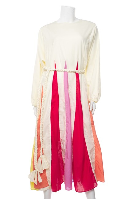 Item - Multicolor L Long Sleeve Mid-length Casual Maxi Dress Size 12 (L)