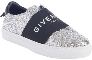 Givenchy Sneakers Slip-on Logo Silver/Black Athletic