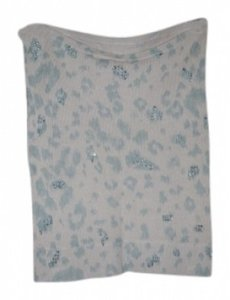 Rebecca Taylor Top Light Blue/Cream