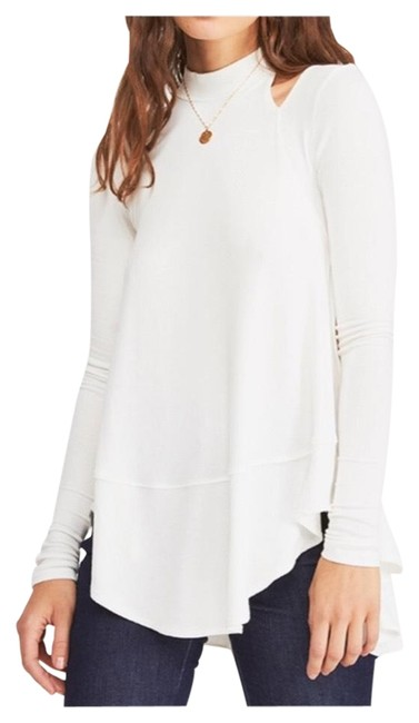 Free People Girl Downtown Tunic Ivory Top Free People Girl Downtown Tunic Ivory Top Image 1