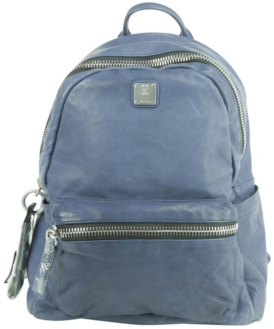 Item - 20mk1230 Lush Tumbler Blue Leather Backpack