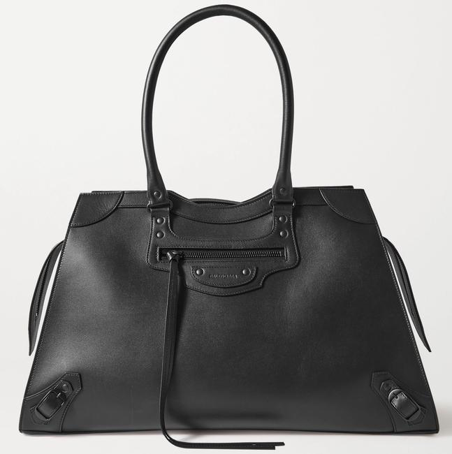 Balenciaga XL Classic City Tote Neo Black Leather Shoulder Bag Balenciaga XL Classic City Tote Neo Black Leather Shoulder Bag Image 1