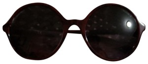 Chanel Chanel pearl Sunglasses in Burgundy