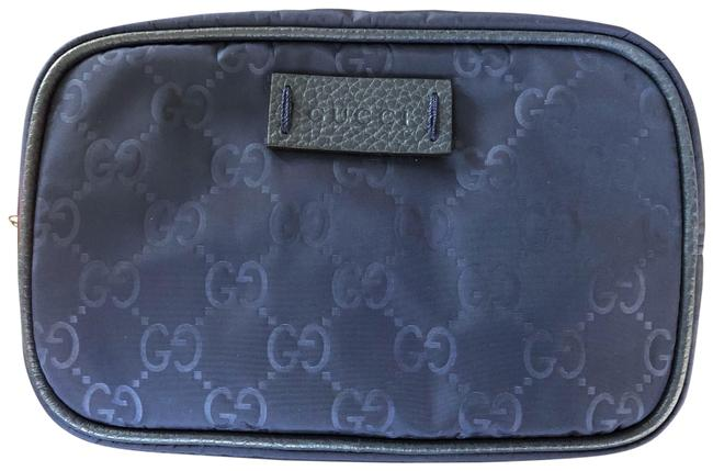 Item - Navy Toiletry Unisex / Pouch Cosmetic Bag