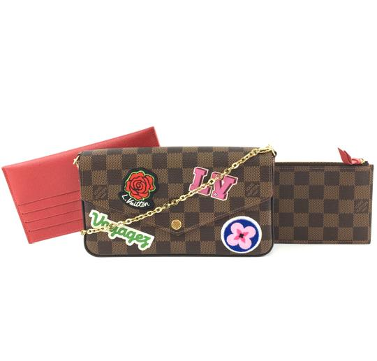 Preload https://img-static.tradesy.com/item/26615266/louis-vuitton-pochette-felicie-34990-patches-chain-wallet-flap-with-insert-card-holder-brown-limited-0-1-540-540.jpg