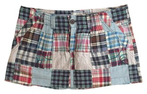 American Eagle Outfitters Skirt Blue/Plaid