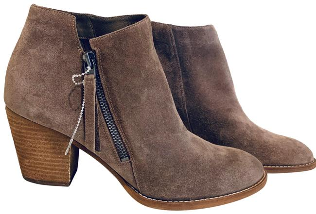 Item - Taupe Suede Ankle Booties/Sz:11/Nwt Boots/Booties Size US 11 Regular (M, B)