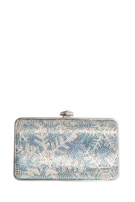 Item - Embellished Silver Clutch