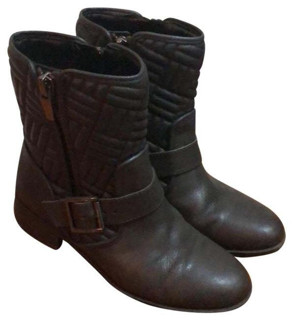 Item - Brownish Green Quilted Boots/Booties Size US 7 Regular (M, B)