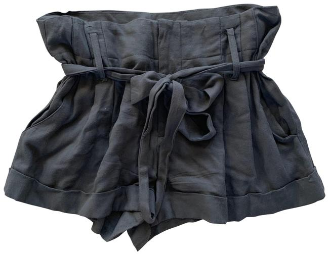 Item - Gray With Attached Belt Small Shorts Size 4 (S, 27)