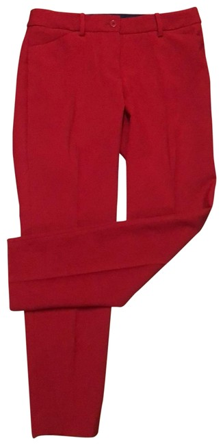 Item - Red Hampshire Ankle Pants Size 4 (S, 27)