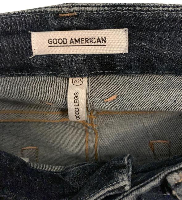 Good American Blue Destroyed Skinny Jeans Size 2 (XS, 26) Good American Blue Destroyed Skinny Jeans Size 2 (XS, 26) Image 1