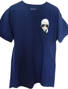 Karl Lagerfeld T Shirt Blue
