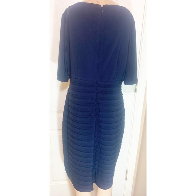 Adrianna Papell Blue Long Night Out Dress Size 14 (L) Adrianna Papell Blue Long Night Out Dress Size 14 (L) Image 2