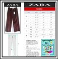 Zara Maroon The Vintage High Rise Corduroy Culotte Style No. 80089348-4 Pants Size 10 (M, 31) Zara Maroon The Vintage High Rise Corduroy Culotte Style No. 80089348-4 Pants Size 10 (M, 31) Image 12