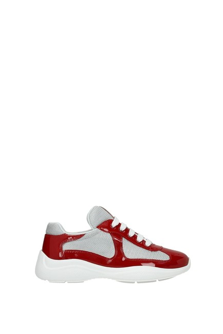 Item - Red Woman Sneakers Size EU 38 (Approx. US 8) Regular (M, B)