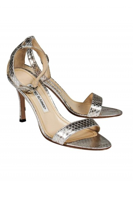 Item - Silver Sandals Size US 6.5 Regular (M, B)