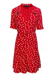 The Kooples short dress red Day White on Tradesy