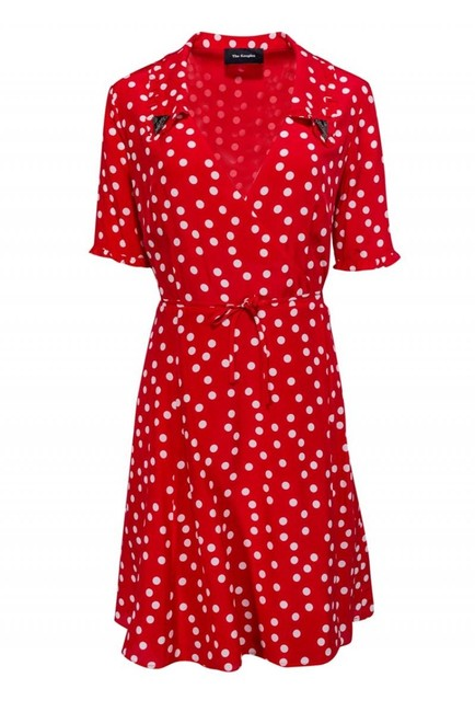 Item - Red Short Casual Dress Size 12 (L)