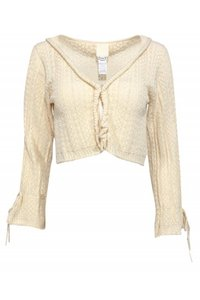 Anna Sui Jackets Cotton Eyelet Cardigan