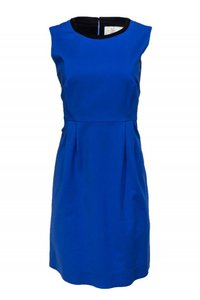 Kate Spade short dress blue Day Cotton on Tradesy