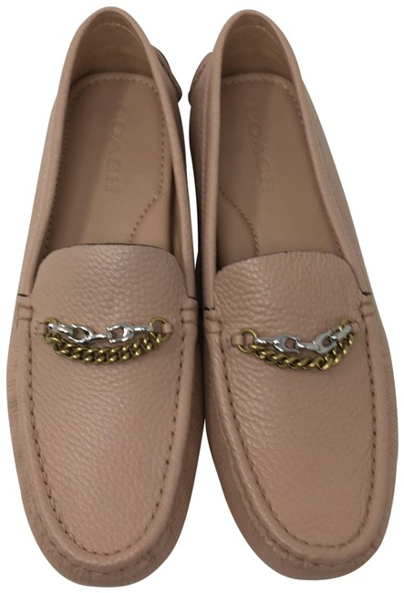 Item - Pale Blush Pebbled Leather Crosby Driver Loafer Flats Size US 8.5 Regular (M, B)