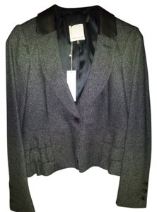 Rebecca Taylor Dark Grey/Charcoal Blazer