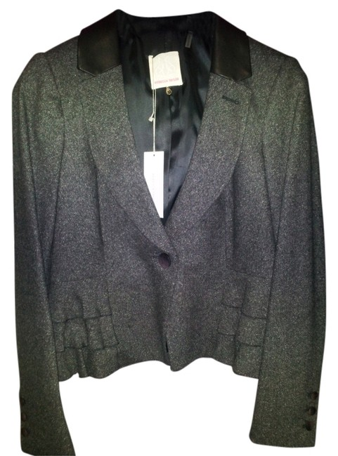 Preload https://item3.tradesy.com/images/rebecca-taylor-dark-greycharcoal-tweed-and-leather-jacket-blazer-size-12-l-26622-0-0.jpg?width=400&height=650
