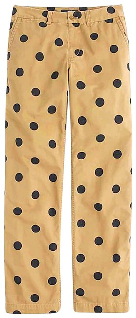 Item - Khaki/Black Polka Pants Size 00 (XXS, 24)