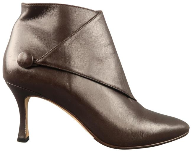 Item - Brown Leather Diaz Ankle Boots/Booties Size US 8.5 Regular (M, B)