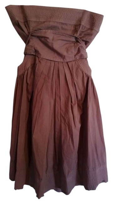 Diab'less short dress brown on Tradesy