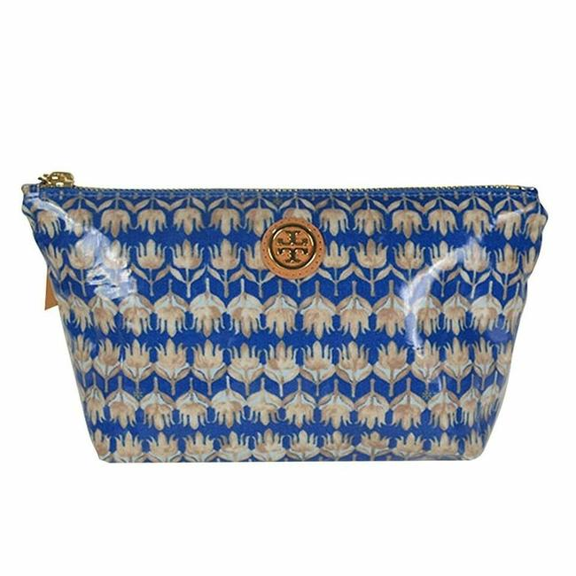 Item - Evening Sky Floral Small Slouchy Pouch Cosmetic Bag