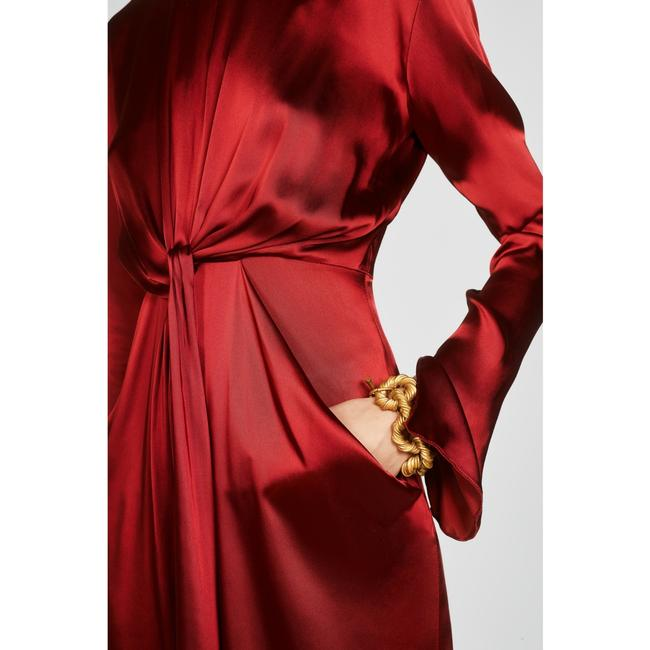 Zara Intense Red Campaign with Bow Details (8356) Long Casual Maxi Dress Size 8 (M) Zara Intense Red Campaign with Bow Details (8356) Long Casual Maxi Dress Size 8 (M) Image 6