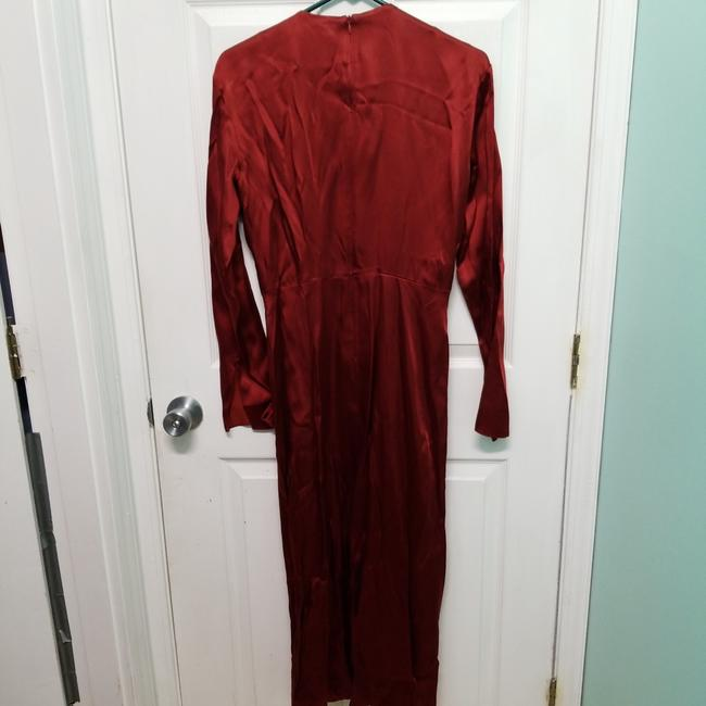 Zara Intense Red Campaign with Bow Details (8356) Long Casual Maxi Dress Size 8 (M) Zara Intense Red Campaign with Bow Details (8356) Long Casual Maxi Dress Size 8 (M) Image 10