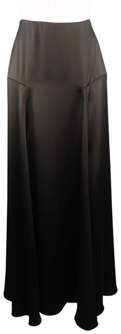 Item - Black Collection Silk A Line Skirt Size 2 (XS, 26)