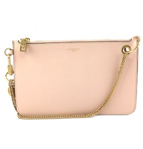 Givenchy Pouch Chain Leather Shopper Baguette