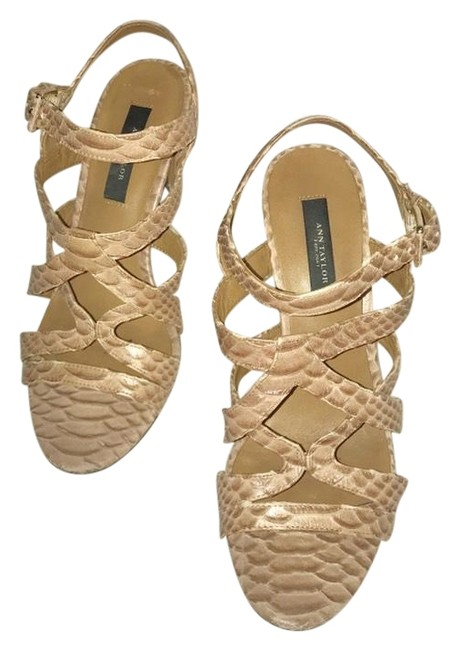 Item - Tan Strappy Sandals Size US 7.5 Regular (M, B)
