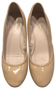 Cole Haan patent leather beige Wedges