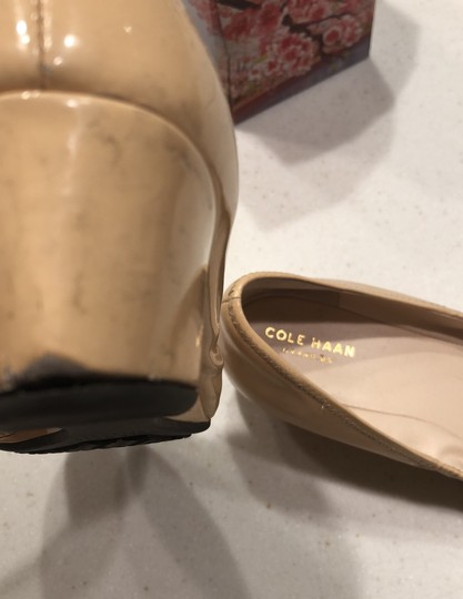 Cole Haan patent leather beige Wedges Image 3