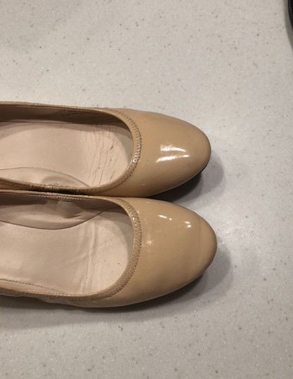 Cole Haan patent leather beige Wedges Image 4