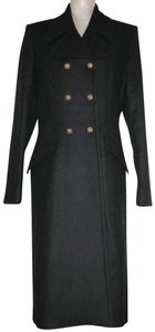 Just Cavalli Double Breast Wool Cashmere Trench Coat